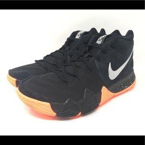 72003bf1a6ea Nike Shoes - Nike Kyrie 4 Black Silver Basketball Shoes New